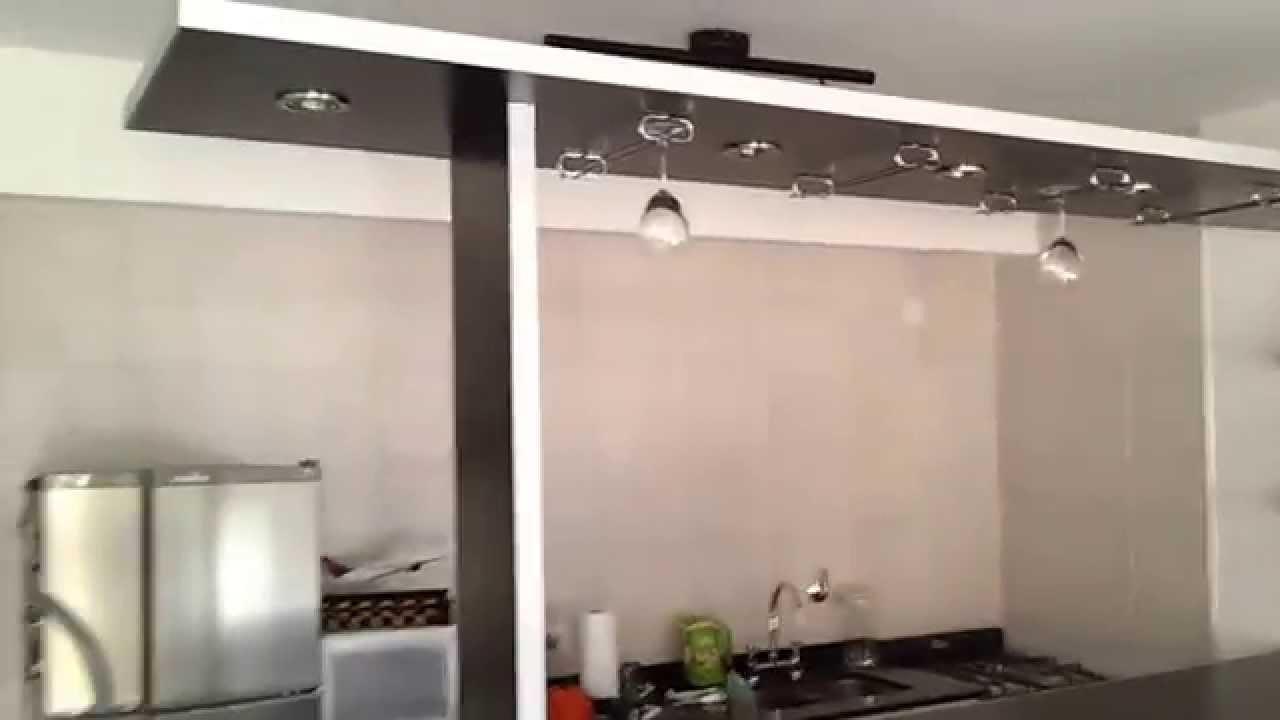 Divisor de ambientes desayunador barra remodelamos tu - Barras para cocinas ...