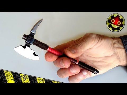 Cara Membuat Kapak Dalam Miniatur
