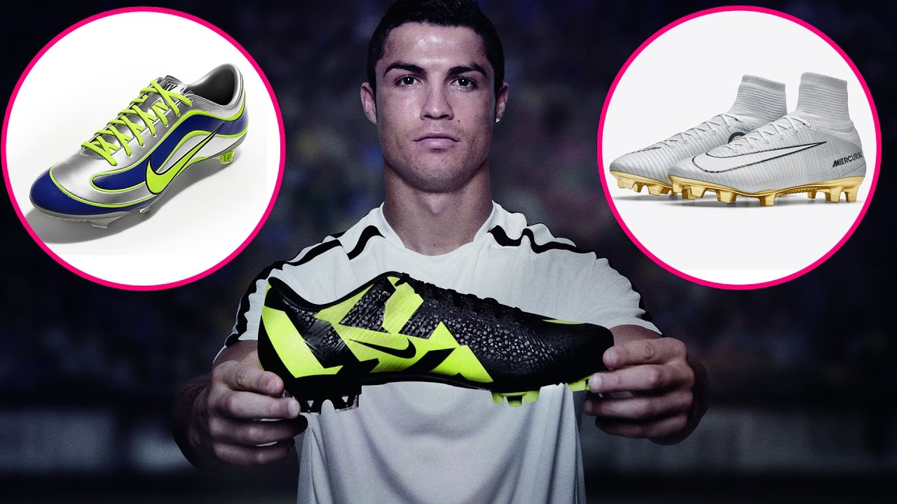 ad2868c9a278 Cristiano Ronaldo Football Shoes | Nike Mercurial Boots (All Time) | 2017  NEW