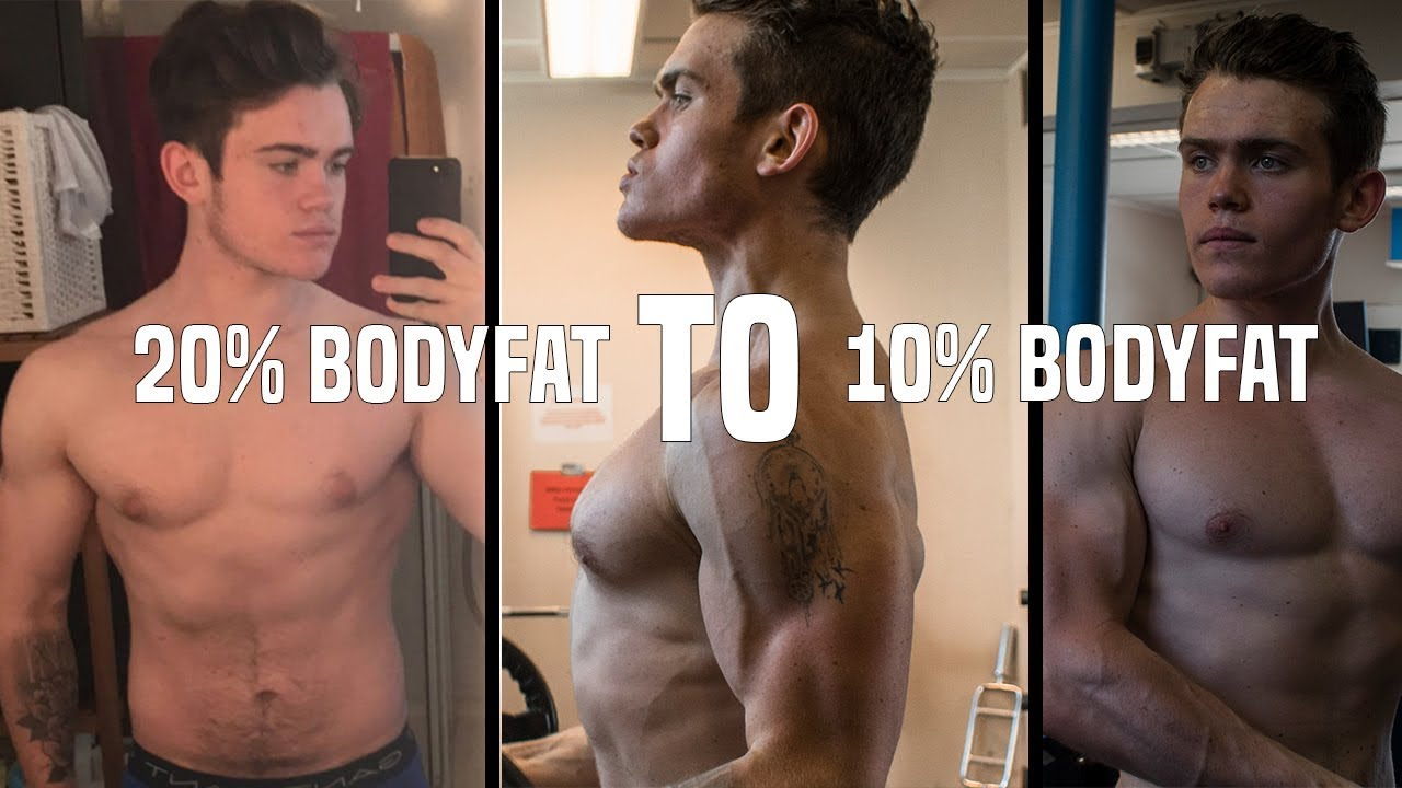how long to reduce body fat percentage by 10
