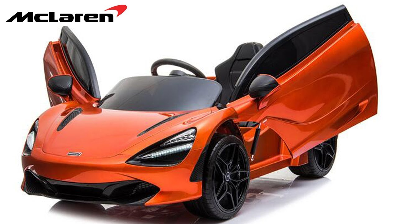 Unboxing And Assembling Of Licensed Sports Car Mclaren 720s Kids Electric Ride On Car Youtube