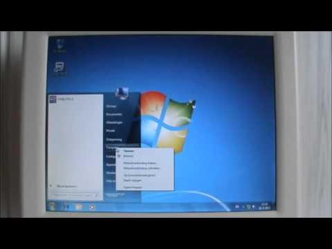 Windows 7 on Pentium II 266 MHz