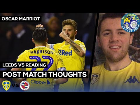Reading 0-3 Leeds | BEAUTIFUL, FREE FLOWING, CLASSY BIELSABALL AT IT'S FINEST Oscar Review