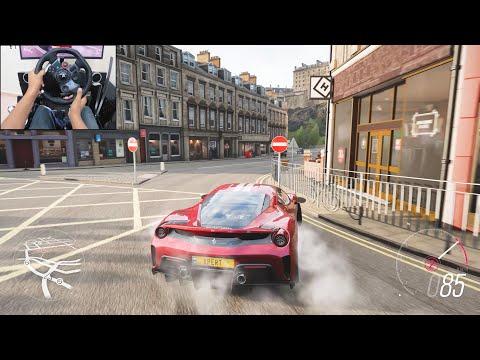 Ferrari 488 Pista - Forza Horizon 4 | Logitech G29 Gameplay