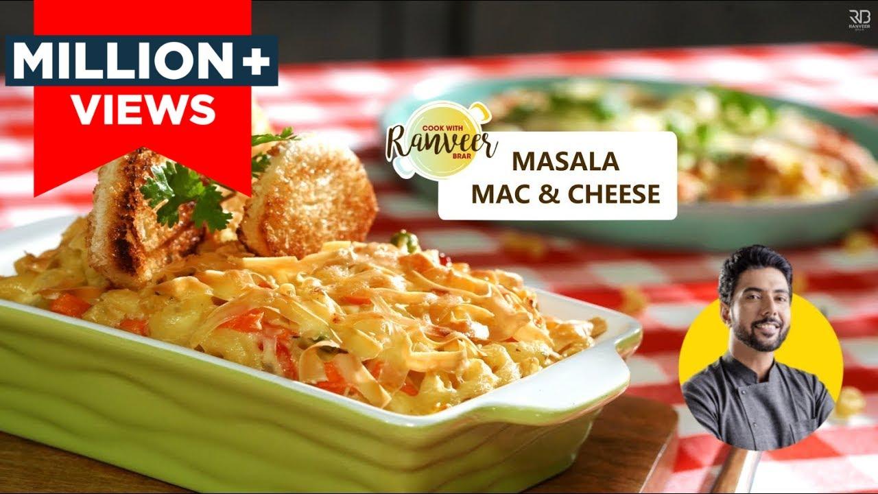 Easy Mac and Cheese | मसाला मैकरोनी चीज़ पास्ता | New Macaroni pizza |Chef Ranveer Brar