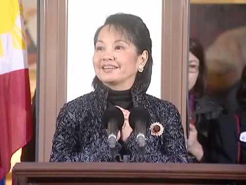 (1/3)President Arroyo during the FILCOM-Madrid