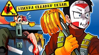 CLEANING UP AFTER A JASON VOORHEES PARTY! (Viscera Cleanup Detail)