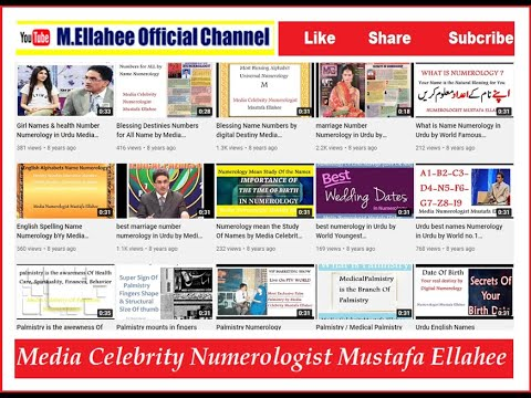 ( Must watch ) Best Pakistan Predictions 2014 by World No.1 Numerologist Mustafa Ellahee Health(33)