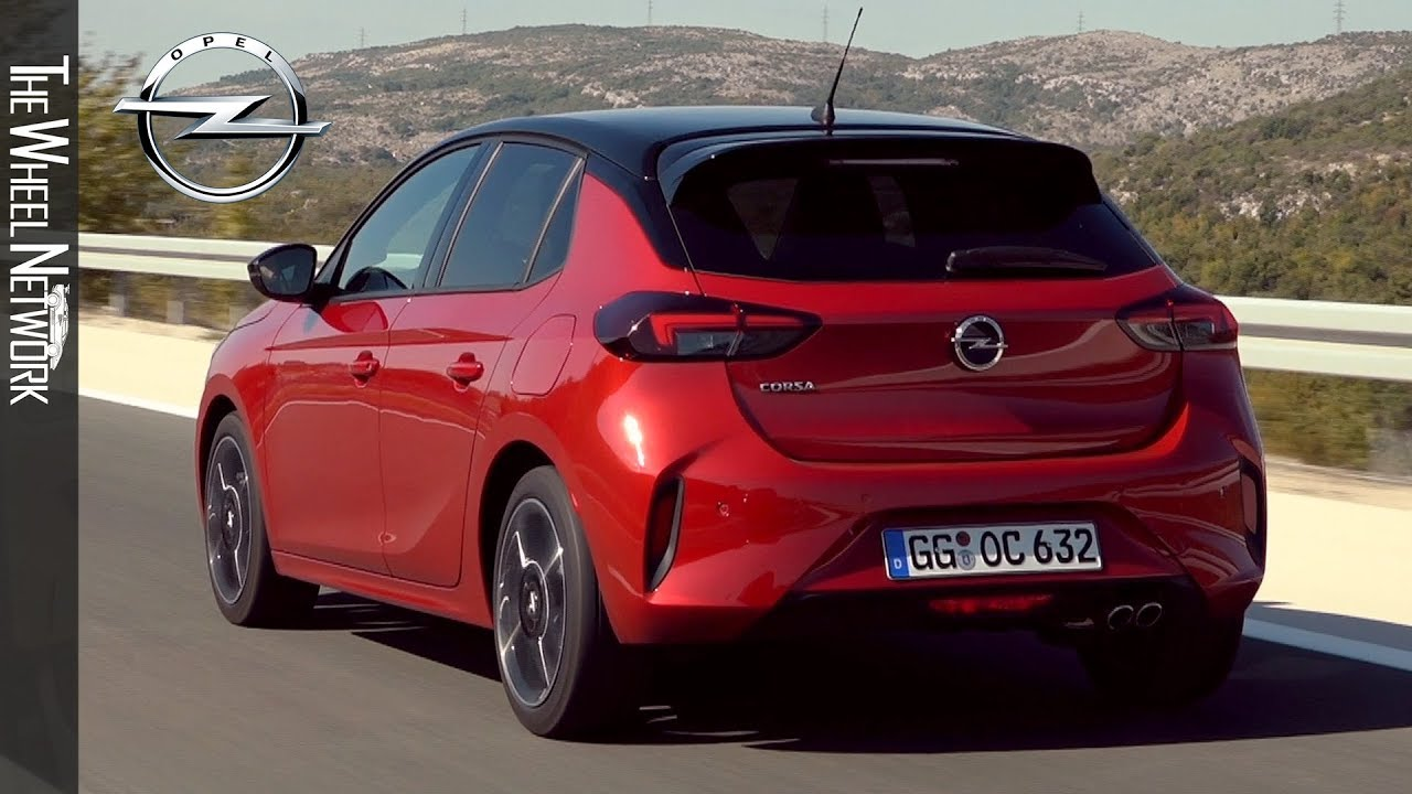 2020 Opel Corsa Gs Line Chili Red Driving Interior Exterior 8 Speed Automatic Youtube