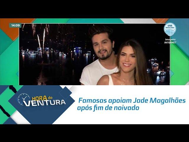 Famosas apoiam Jade Magalhães após fim de noivado com Luan Santana
