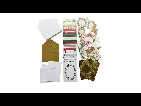 Anna Griffin Christmas Collage Card Making Kit