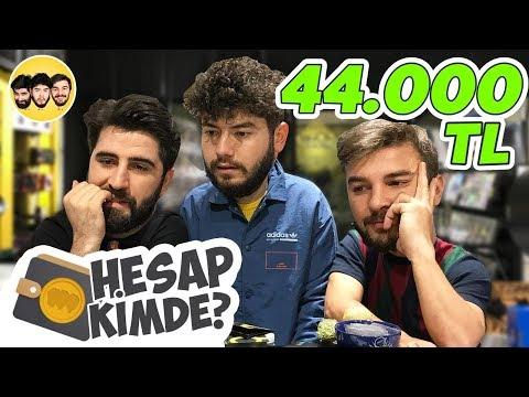 HESAP KİMDE ? ( 45.500 TL HESAP! )