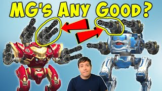 Mk2 Machinegun Experiment - Are They Any Good? War Robots Gameplay WR