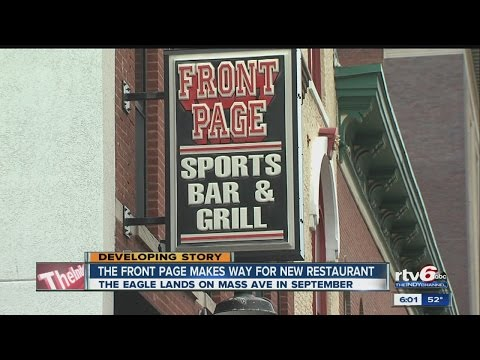 Front Page Sports Bar & Grill to close