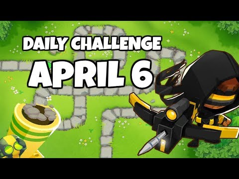 BLOONS TD 6 DAILY CHALLENGE FOR WEDNSEDAY JULY 25 IN