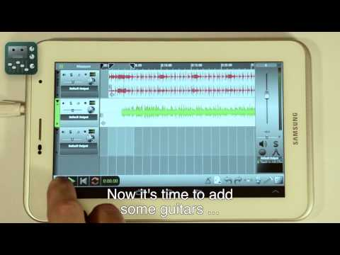 nTrack Studio - Recording audio with Android