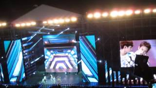SHINee - Dream Girl [FANCAM] Music Bank in Indonesia