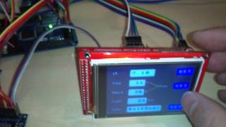 Arduino mega with 128x64 graphic LCD - ruclipcom