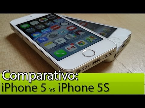 Comparativo: iPhone 5 vs iPhone 5S | Tudocelular.com