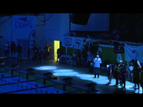 Danish International Swim Cup 2014, opening show part 1/4