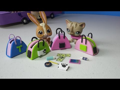 How to Make LPS Purses Handbags Plus Accessories: Doll DIY