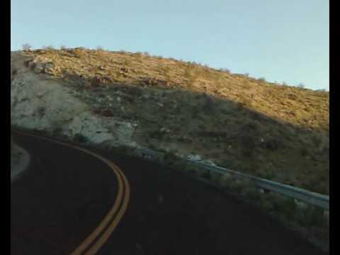Leavin' Death Valley, goin' Mojave