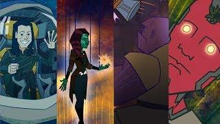 Avengers: Infinity War / Endgame | Alternate Scenes From Fake Scripts
