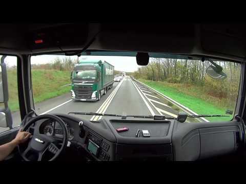 Видео как работают дальнобойщики