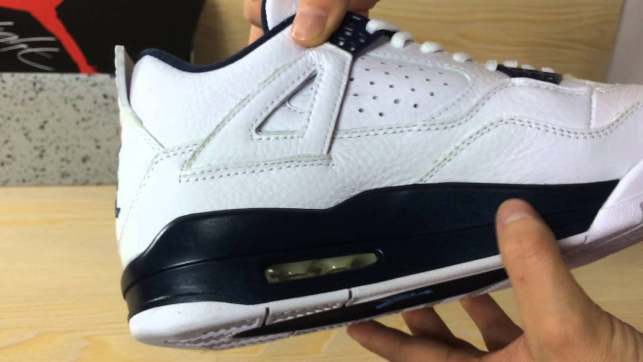 4f4608c3236 Authentic Air Jordan 4 Columbia GS From Sneakerfly.cn - YouTube