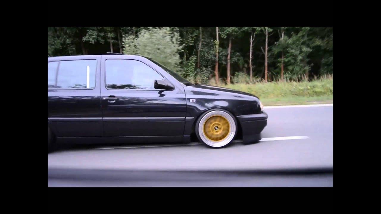 VW Golf MK3 VR6 Stance Static 2015 HD - YouTube