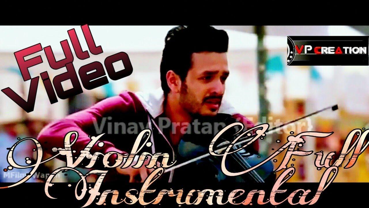 Download HELLO !! {Taqdeer} Best Instrumental Violin Full Video Song...