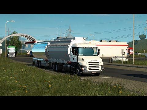 ETS 2 1.27 ProMods 2.16 Scania T440 Vaduz - Milano