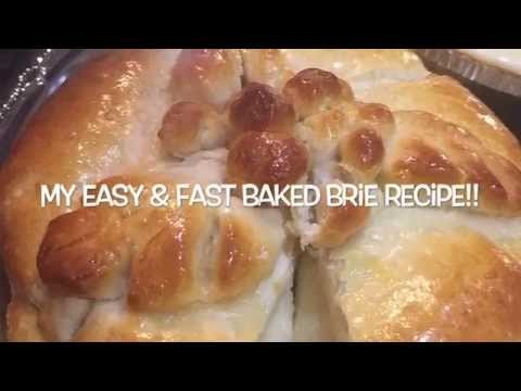 Easy Baked Brie Recipe!