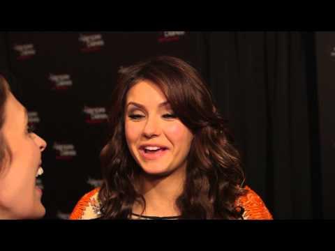 Nina Dobrev Talks Elena vs Katherine & Favorite Vampire Diaries  Moments