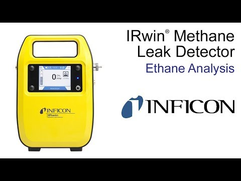 IRwin Methane Leak Detector | Ethane Analysis