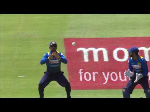 South Africa vs Sri Lanka - 4th ODI - Hashim Amla - Wicket