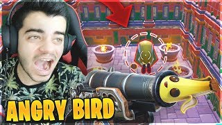 *NEW MODE* ANGRY BIRD AVEC LES CANONS SUR FORTNITE !!