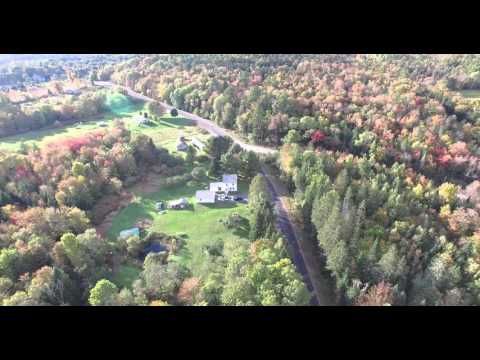 Phantom 3 Cambridge, Maine fall raw video