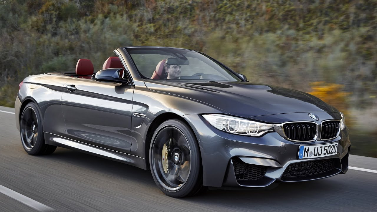 2015 Bmw M4 Convertible First Driving Good Exhaust