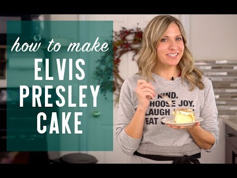 How to Make ELVIS PRESLEY CAKE {Recipe Video}