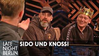 Wird's Knossi JETZT unangenehm? Sido & Knossi über ihre Freundschaft | Late Night Berlin | ProSieben