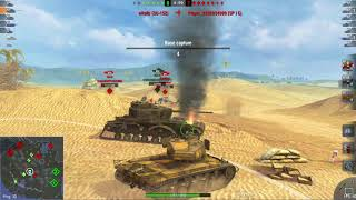 T26E4 Super Pershing - 5500+ Dmg - 5 Kills - 1 vs 2