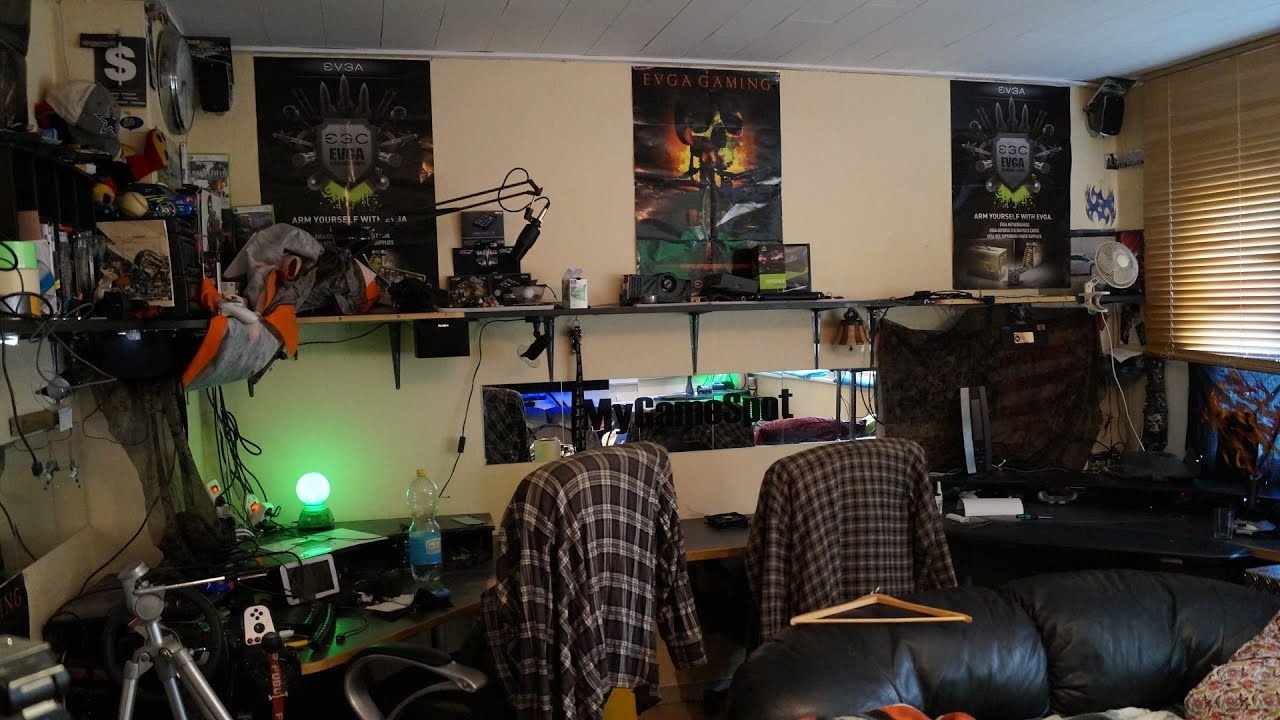 How To Get On Man Cave Tv Show : Packing down of my man cave furious pc gaming rig