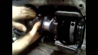 Ремонт двигателя, устанавливаем ВКЛАДЫШИ Pan Zmitser