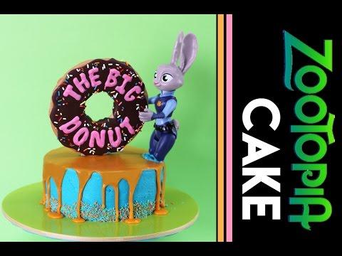 Permalink to Zootopia Birthday Cake