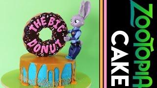 ZOOTOPIA CAKE | Disney Zootopia Movie Cake | Elise Strachan | My Cupcake Addiction