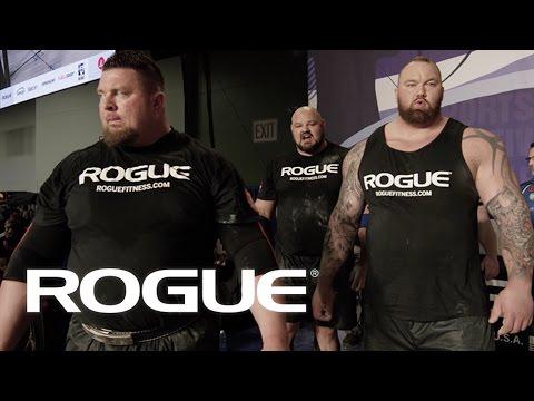2017 Arnold Strongman Classic - The Winner's Circle / 4K