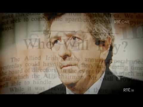 Scannal,ICI,AIB, 1985,Insurance Corporation of Ireland, Allied Irish Banks scandal,Gaeilge,RTE,Irish