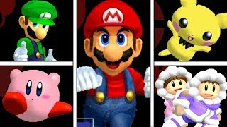 Super Smash Bros Melee - All Victory Pose Animations (HIGH QUALITY)