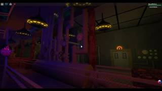 Turm des Terrors in Roblox (Hollywood Tower Hotel)